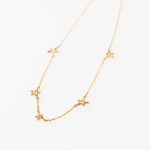 Skip Star Necklace