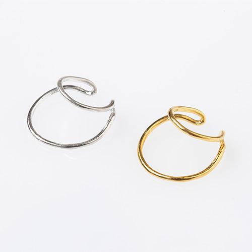 Double Stand Ear Cuff
